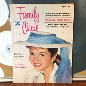 April 1957 Family Circle Magazine